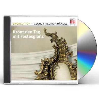 Handel KRONT DEN TAG MIT FESTESGLANZ CD