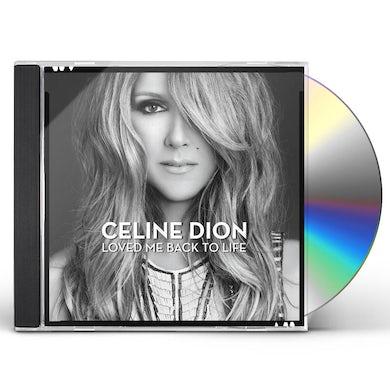 Celine Dion LOVED ME BACK TO LIFE CD