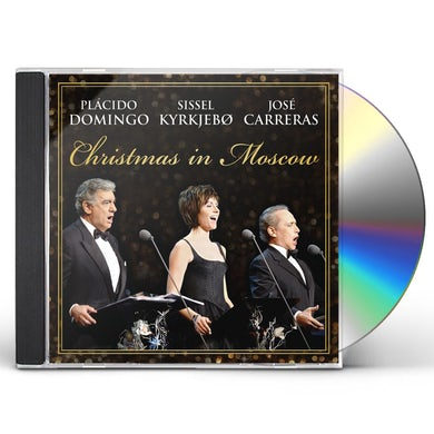 Jose Carreras CHRISTMAS IN MOSCOW CD