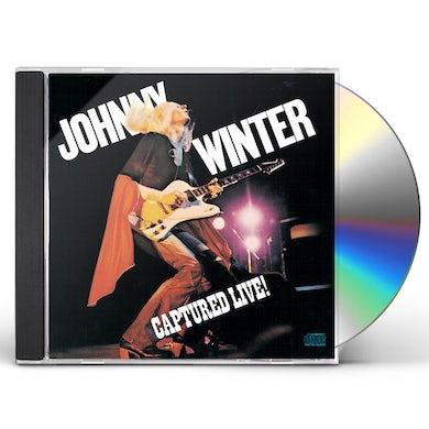 Johnny Winter CAPTURED LIVE CD