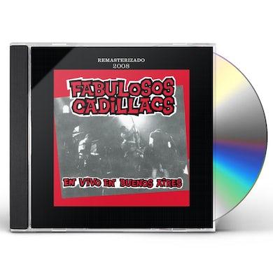 FABULOSOS CADILLACS EN VIVO EN BUENOS AIRES CD