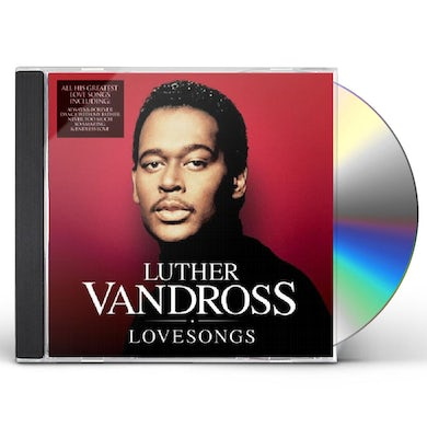 Luther Vandross LUTHER LOVE SONGS CD