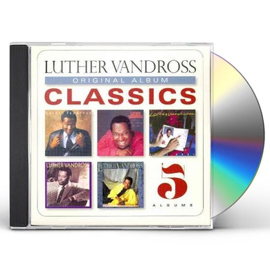 Luther Vandross ORIGINAL ALBUM CLASSICS CD