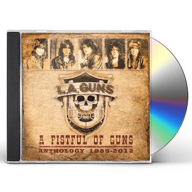 LA Guns A FISTFUL OF GUNS - ANTHOLOGY 1985-2012 CD