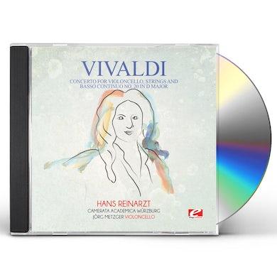 Vivaldi CONCERTO FOR VIOLONCELLO STRINGS & BASSO CONTINUO CD