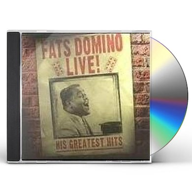 Fats Domino GREATEST HITS LIVE CD