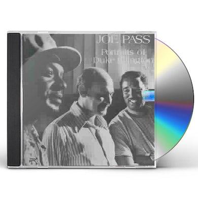 Joe Pass PORTRAITS OF DUKE ELLINGTON CD