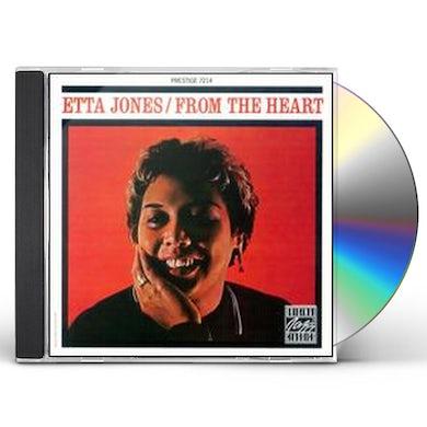 Etta Jones FROM MY HEART CD