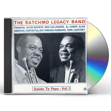 SATCHMO LEGACY BAND VOL. 1-SALUTE TO POPS CD