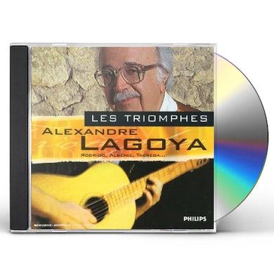 LES TRIOMPHES: ALEXANDRE LAGOYA CD