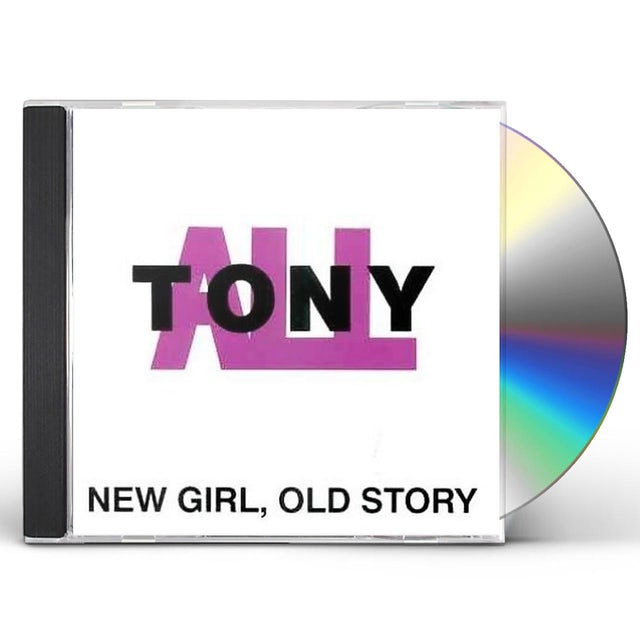 TonyALL NEW GIRL OLD STORY CD