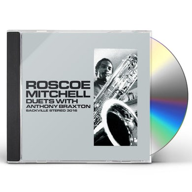 Roscoe Mitchell DUETS WITH ANTHONY BRAXTON CD