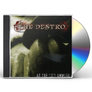 Destro AS THE COIL UNWINDS CD