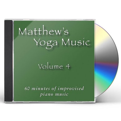 Matt Johnson MATTHEW'S YOGA MUSIC 4 CD