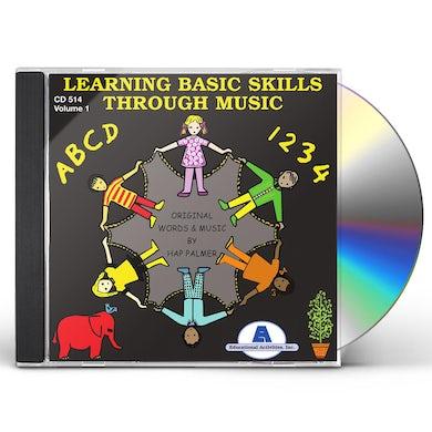 Hap Palmer Learning Basic Skills Through Music   Vo CD