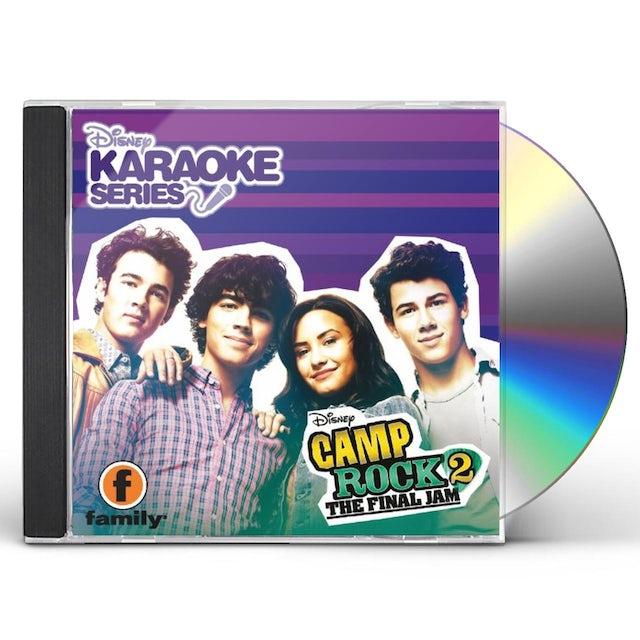 Karaoke VOL. 2-CAMP ROCK FINAL JAM DISNEY CD