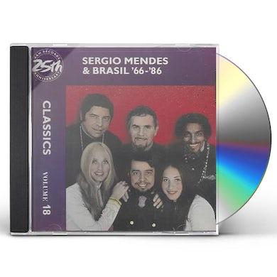 Sergio Mendes & Brasil '66 Classics Volume 18 CD