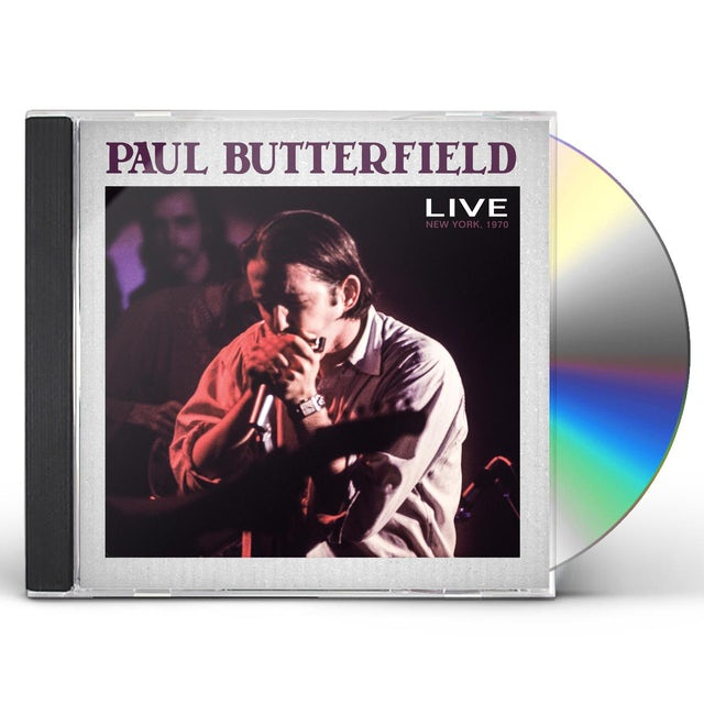 Paul Butterfield LIVE 1970 CD