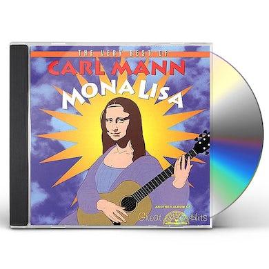 Carl Mann MONA LISA: VERY BEST OF CD