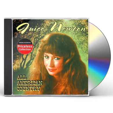 Juice Newton ALL AMERICAN COUNTRY CD