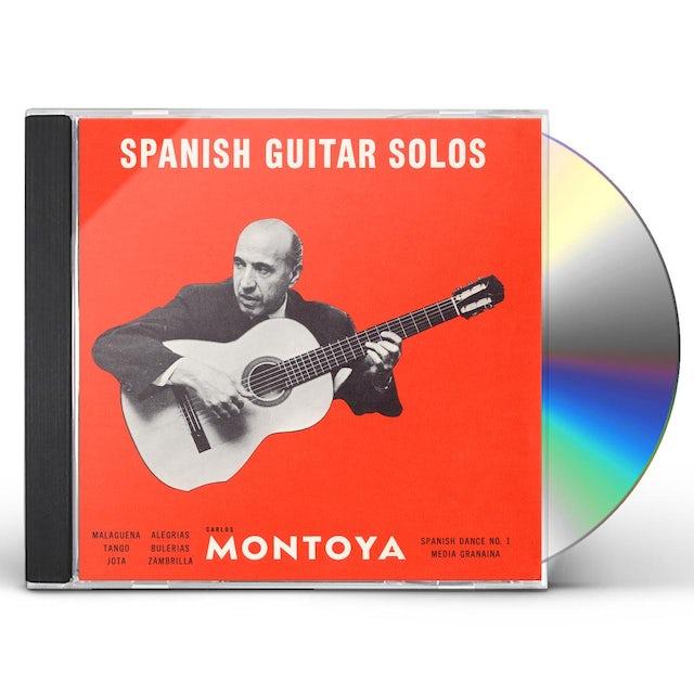 Carlos Montoya SPANISH GUITAR SOLOS CD