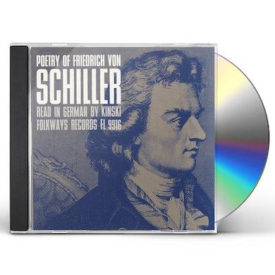 Kinski POETRY OF FRIEDRICH VON SCHILLER CD