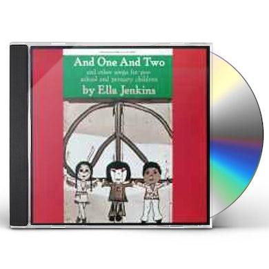 Ella Jenkins ONE & TWO CD