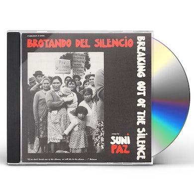 Suni Paz BROTANDO DEL SILENCIO - BREAKING OUT OF SCLENCE CD