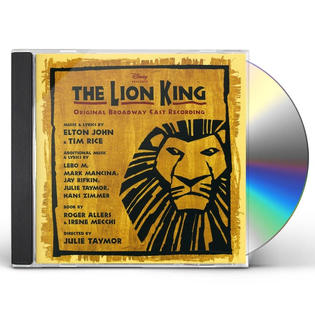 Various Artists LION KING-BROADWAY MUSICAL CD