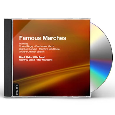 Black Dyke Mills Band FAMOUS MARCHES CD