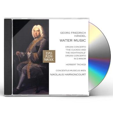 Nikolaus Harnoncourt GEORG FRIEDRICH HANDEL WATER MUSIC CD
