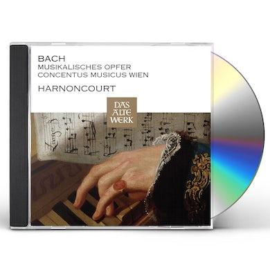 Nikolaus Harnoncourt JOHANN SEBASTIAN BACH MUSIKALISCHES OPFER CD