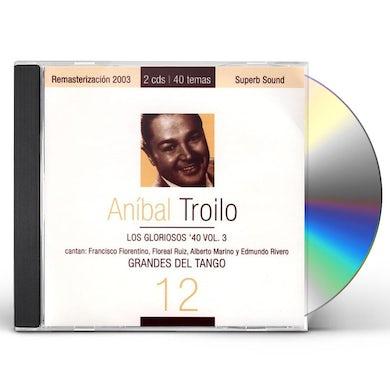 Anibal Troilo GRANDES DEL TANGO 3 CD