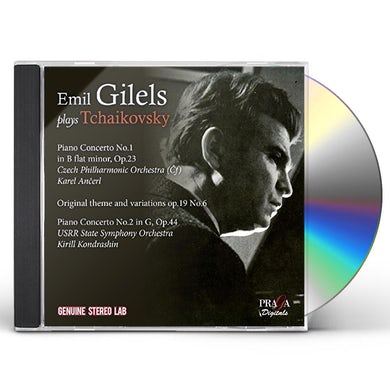 Emil Gilels PLAYS TCHAIKOVSKY CD