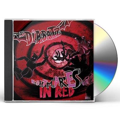As Diabatz NIGHTMARES IN RED CD