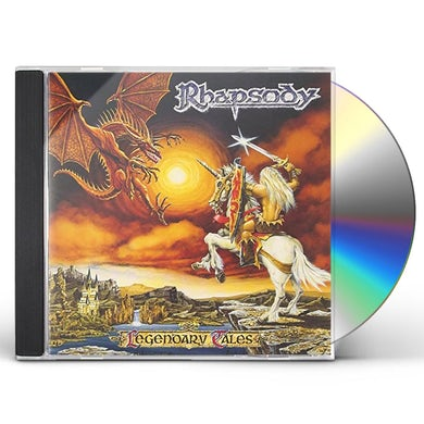 Rhapsody LEGENDARY TALES CD