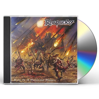 Rhapsody RAIN OF A THOUSAND FLAMES CD