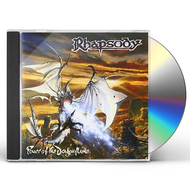 Rhapsody POWER OF THE DRAGONFLAME CD