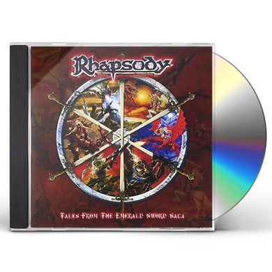 Rhapsody TALES FROM THE EMERALD SWORD SAGA CD