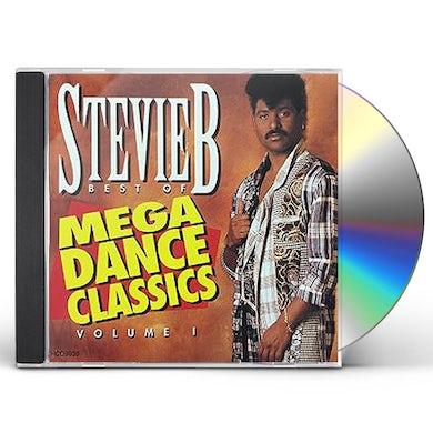 Stevie B. BEST OF MEGA DANCE CLASSICS VOLUME 1 CD