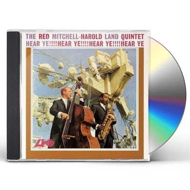 Red Mitchell HEAR YE CD