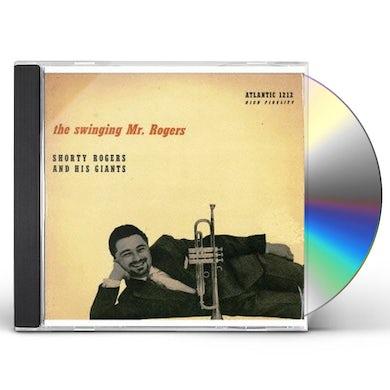 Shorty Rogers SWINGING MR ROGERS CD