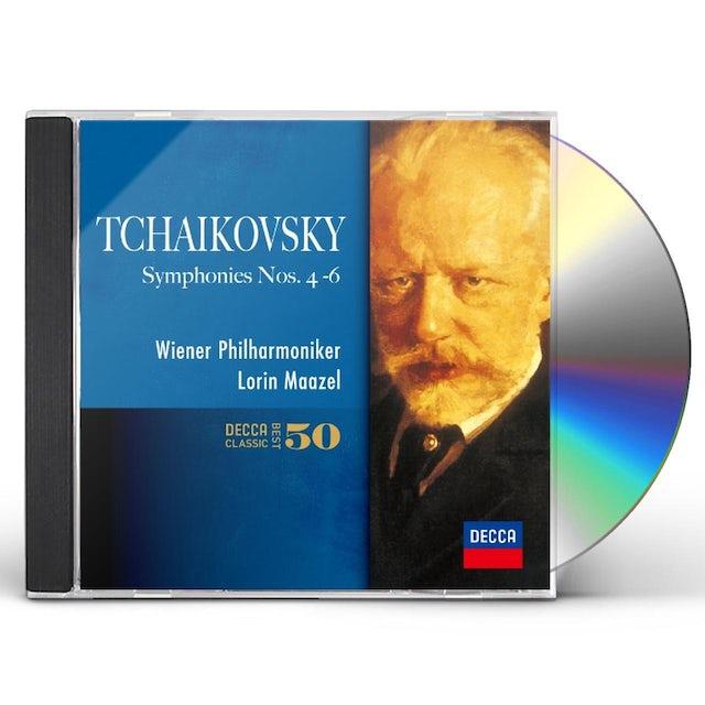 Lorin Maazel TCHAIKOVSKY: THE SYMPHONIES NOS.4-6 CD
