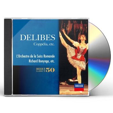Richard Bonynge DELIBES: COPPELIA CD