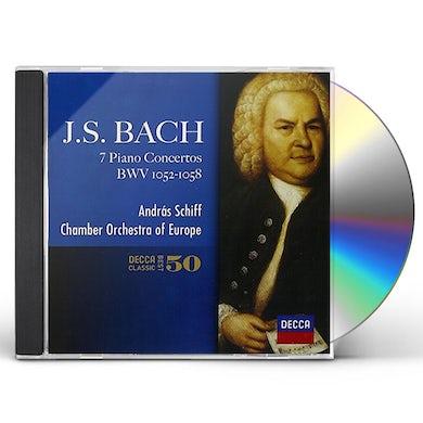 Andras Schiff J.S.BACH: PIANO CONCERTOS CD