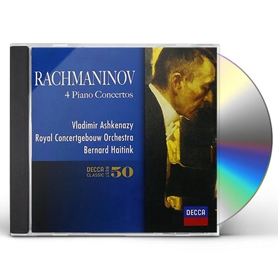 Vladimir Ashkenazy RACHMANINOV: PIANO CONCERTOS CD