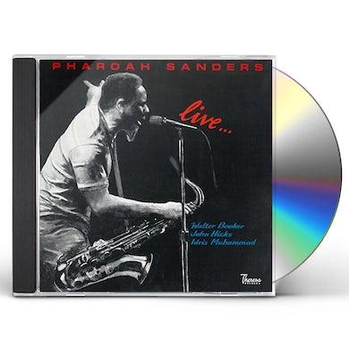 Pharoah Sanders LIVE CD