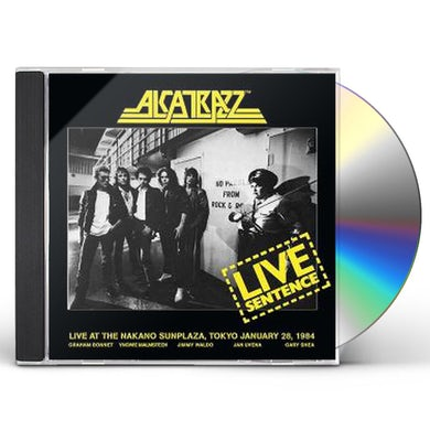 Alcatrazz LIVE SENTENCE: 2 DISC DELUXE EDITION CD