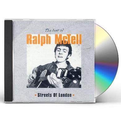 Ralph McTell BEST OF STREET OF LONDON CD