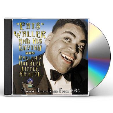 Fats Waller HARLEM'S HARMFUL LITTLE ARMFUL CD
